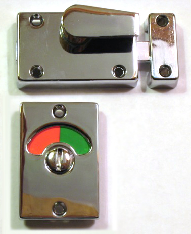 Red Green Indicator Door lock, Red and Green Bathroom Lock