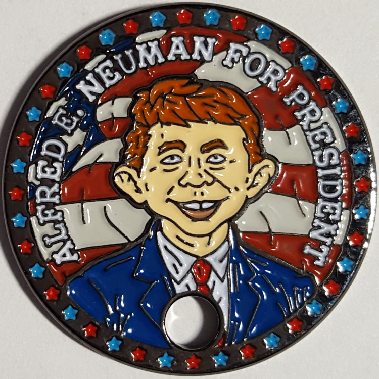 ALFRED E. NEUMAN FOR PRESIDENT VOTE MAD 2016 ELECTION MAD MAGAZINE PATHTAG