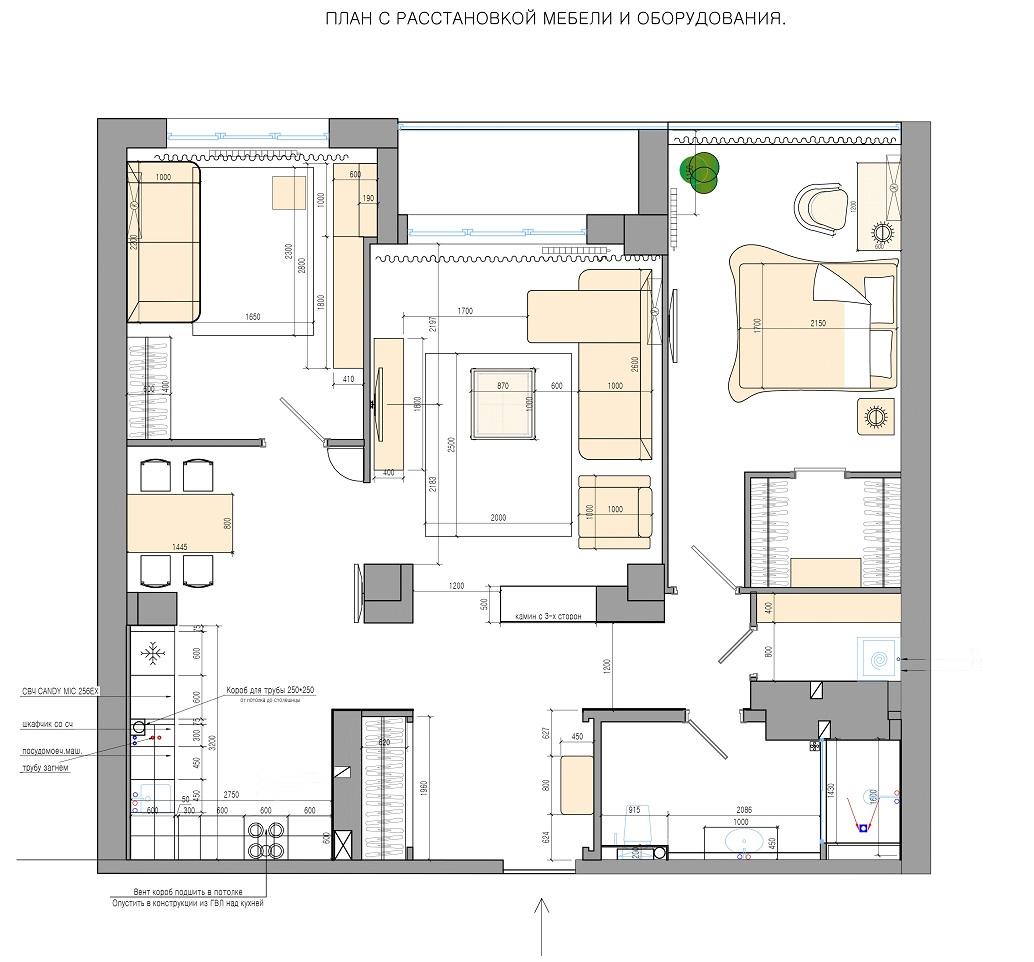План квартиры Хабаровск