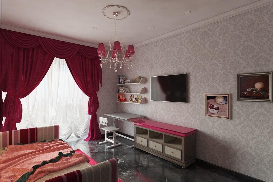 Интерьер детской комнаты Хабаровск